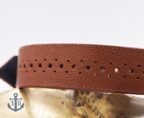 The Rene Tan Leather Collar